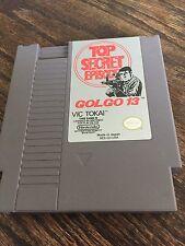 Golgo 13: Top Secret Episode Original Nintendo NES Cart NE2
