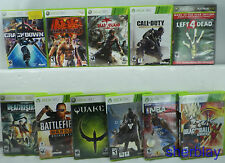 11 Microsoft Xbox 360 Video Games MUST SEE LOT Tekken 6 Dragonball XV Cenoverse