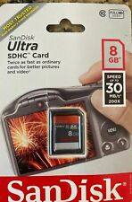 8 gb sd memory card San Disk Ultra