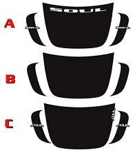 2012 - 2013 Kia Soul GRAPHICS Vinyl Patch Stripes Decals kit 3M