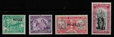 KING GEORGE VIth VICTORY STAMPS. NIUE SG98-101. UNMOUNTED MINT.