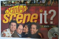 NEW Sealed Scene It? Seinfeld Interactive Trivia DVD Board Game Jerry Kramer
