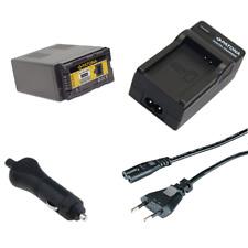 caricabatteria rapido DUAL LCD per Panasonic AG-AC160A 2x Batteria Patona