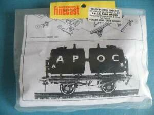 S E Finecast Brass & White Metal 4mm Kit FW006 Private Owner A.P.O.C. Tank Wagon