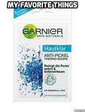 Garnier Piel Naturals, piel clara anti-acné, Máscara Facial Térmica, paquete doble