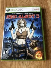 Command & Conquer: Red Alert 3 (Microsoft Xbox 360, 2008) Nice Shape ES