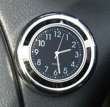 "British made Time-Rite ""Forty-Four"" Classic Car Dashboard Clock - Black Clock"