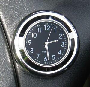"British made Time-Rite ""Forty-Four"" Classic Car Dashboard Clock - Black Clock"