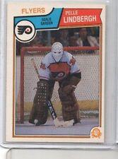 1983-84 OPC O Pee Chee Pelle Lindbergh Rookie #268 Philadelphia Flyers