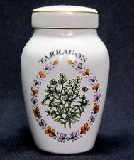 Franklin Mint Porcelain Spice Jars, Gloria Concepts Inc. - Tarragon