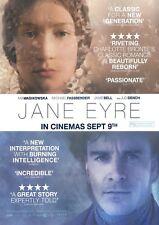 Jane Eyre movie poster : 12 x 17 inches Michael Fassbender poster Mia Wasakowska