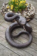 SERPENT EN BRONZE ,(animalier,le crotale,serpent à sonnette)
