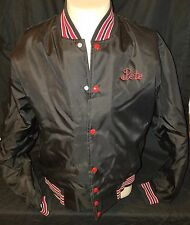 Vintage Black Commodore Shipping Boat Jacket Men's Large Pete Stitched On Front