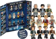 Doctor Who - 11 Doctors Micro Figure Collector Pack NEW * character building set