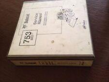 BOBCAT MELROSE 753 BICS SKIDSTEER SERVICE MANUAL BOOK REPAIR nice