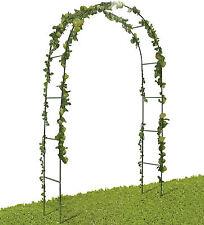 Arco decorativo in metallo giardino piante rampicanti fiori