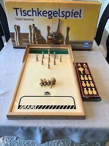 MESPI Meraner Tischkegelspiel - Table Bowling in OVP Art-Nr 10500 Sehr Selten
