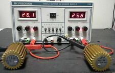 BK1760 Three Output Lab Power Supply 30V+30V TESTED! 3 digit LED V / A displays