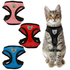 Cat Dog Adjustable Harness Pet Vest Lead Leash Set Puppy Kitty Walking Collar