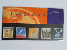 Peace & Freedom - Royal Mail Presentation Pack - 02/05/1995