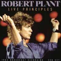 LIVE PRINCIPLES (2CD)  by ROBERT PLANT  Compact Disc Double  UN2CD016