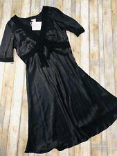 Cacharel 100% silk midi dress 14. NWT Originally $599