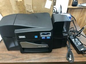 HID Fargo DTC4500e Single Side Card Printer, Excellent Used Condition