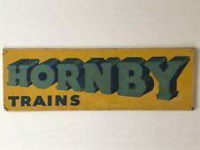 More details for hornby original vintage shop display sign