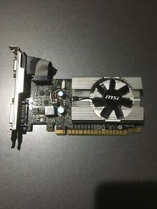 MSI NVIDIA GeForce 210 (N210-MD1G/D3) 1GB GDDR3 SDRAM PCI Express x16