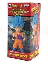 "Banpresto Dragonball Z Z-Warriors SSG Goku 001 WCF 2.5"" tall DBZ New Dragon Ball"