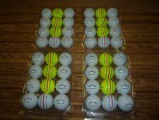 4 Dozen Used Callaway Chrome Soft  Triple Track Golf Balls in AAAAA Condition!