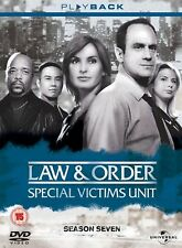 Law And Order - Special Victims Unit - Series 7 - Complete (DVD, 2009, 5-Disc)