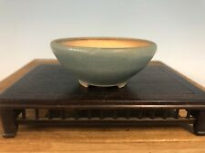 """Accent Or Mame Sized Bonsai Tree Pot By Brian Koso 3 1/4"""""""