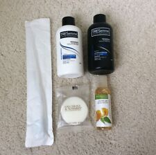 TOILETRIES TRAVEL SET TRESEMME SHAMPOO & CONDITIONER SHOWER GEL SOAP DENTAL KIT