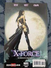 X-Force issue 23 Horror Movie Variant Necrosha X (2010,Kyle/Yost/Crain)