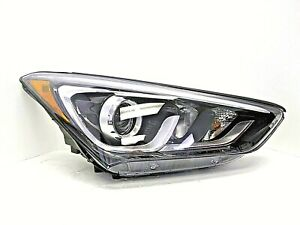 2016-2018 HYUNDAI SANTA FE SPORT RH PASSENGER SD HALOGEN/LED HEAD LIGHT