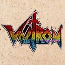 Voltron Logo Patch Cartoon Robot Defender of the Universe Lions Ver. Embroidered