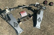 Axis Sabre A21 Double Bass Drum Pedal w/ Microtune - Orig & Sonic Hammer Beaters