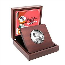 Disney (Niue) $2, 1 oz. Silver Coin, 2015,Mint,Daisy Duck 75th Anniversary,QE II