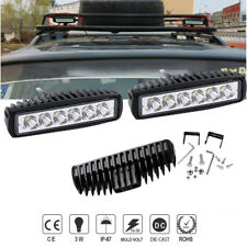 """6"""" Spot LED Work Light SUV Ford Vehicle ATV Barra Boat Jeep Offroad Marine 7inch"""