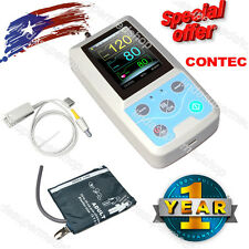 New Portable Vital Sign Patient Monitor,NIBP+SPO2+PR,PC Software CONTEC US FDA