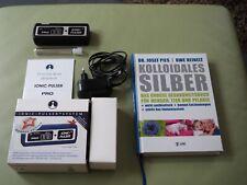 Ionisator zum Herstellen von kolloidales Silberwasser / Ionic Pulser PRO + Buch