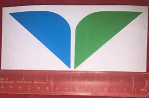 "Mini Snowbird Wings Measures 5 1/2"" Souvenir Sticker/decal Snowbird UT ⛷🏂"