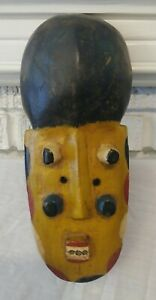 Genuine Hand Made in Africa Ivorian Grebu Mask