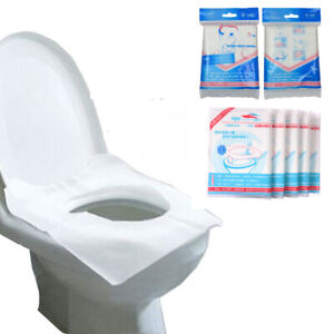 Anti-Bacterial Disposable Hygiene Travel Toilet Seat Paper Cover