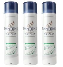 3 x PANTENE 220g PRO-V HAIRSPRAY STAY SMOOTH 100% Brand New