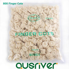 800Pcs Disposable Sterile Rubber Latex Finger Gloves Tattoo Nail Art