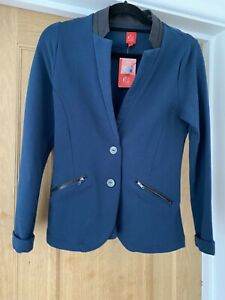 Captain Tortue Miss captain Jacket With Rhinestone Details