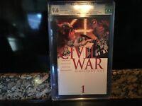 Civil War #1 D Director's Cut Variant CGC 9.6-2006