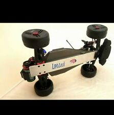 Lipo Lock Traxxas Rustler 5 oz speed run Chassis skid plate-Rustler-VXL-XL5- 100